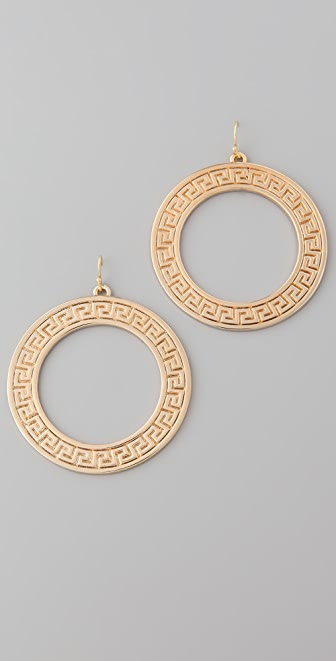 Lisa Stewart Jewelry Modern Myth Gold Earrings