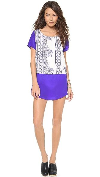 LIV Short Sleeve Shift Dress