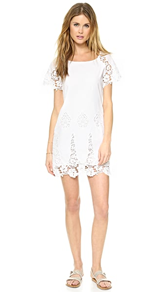 LIV Cap Sleeve Shift Dress