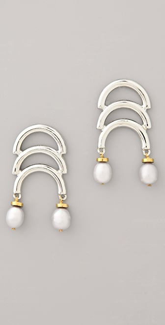 Lizzie Fortunato Organic Architecture Earrings