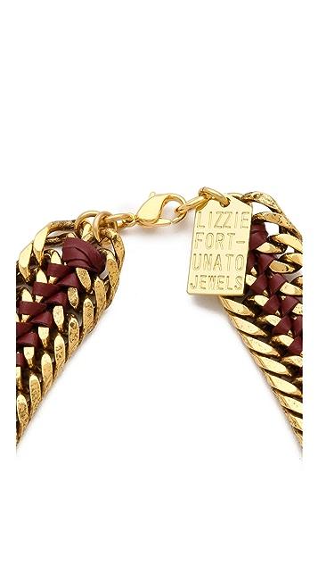 Lizzie Fortunato Un-Zipped Necklace