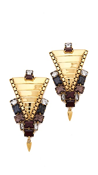 Lizzie Fortunato Left Bank Earrings