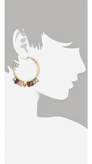 Lizzie Fortunato The Paris Confidential Earrings