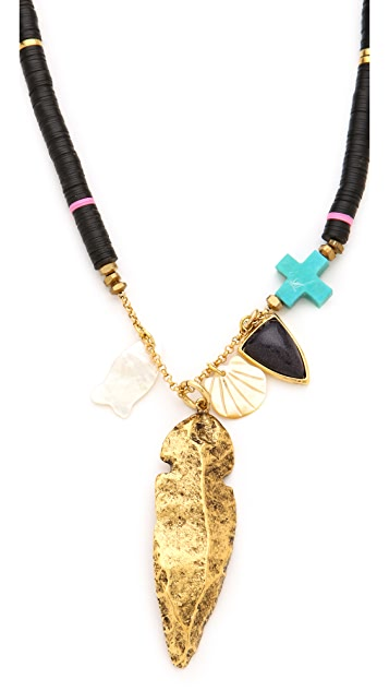 Lizzie Fortunato Fortune Teller Necklace