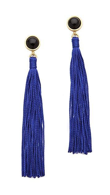 Lizzie Fortunato High Noon Tassel Earrings