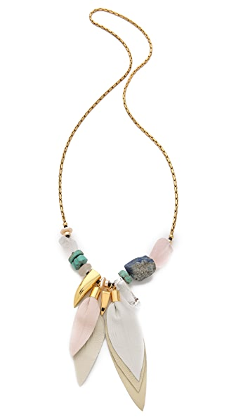 Lizzie Fortunato Calla Lily Necklace