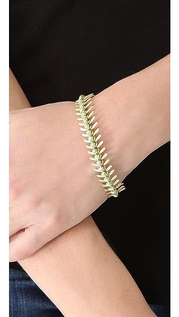 Lizzie Fortunato Scale Bracelet