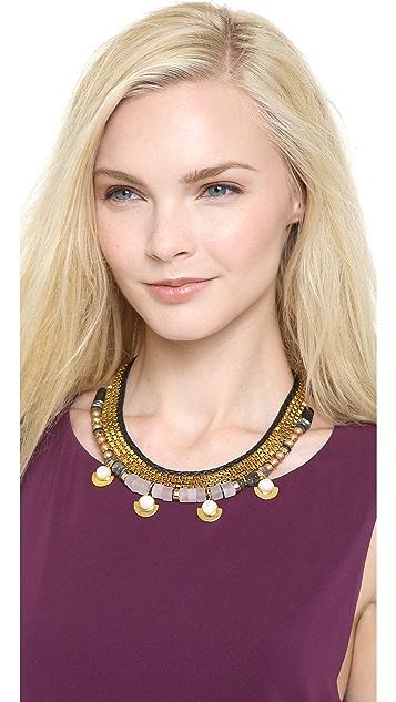 Lizzie Fortunato Navy & Greys Necklace