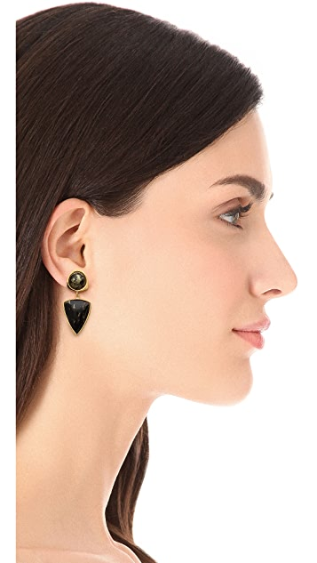 Lizzie Fortunato Elegant Outlaw Earrings