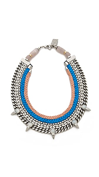 Lizzie Fortunato Conversations on Cool Necklace