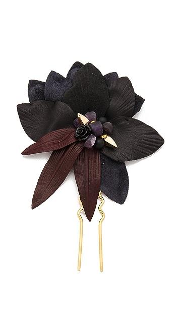Lizzie Fortunato Dark Petal Hair Pin