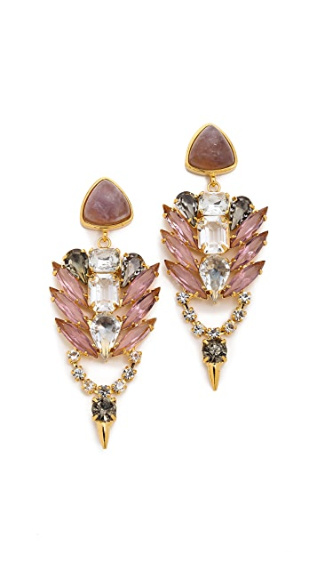 Lizzie Fortunato Palace Earrings