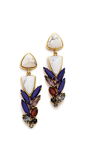 Lizzie Fortunato Porcealin Cool Earrings