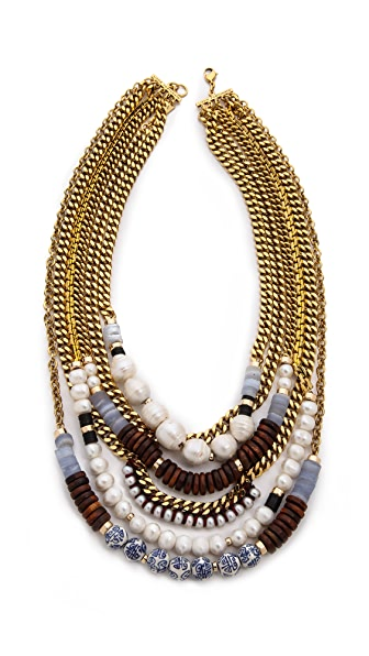 Lizzie Fortunato Dutch East India Necklace