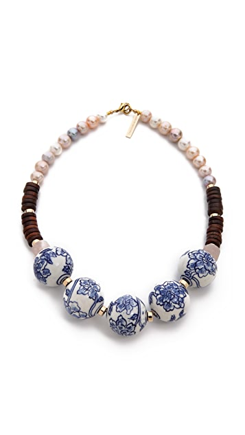 Lizzie Fortunato The New Blue Necklace
