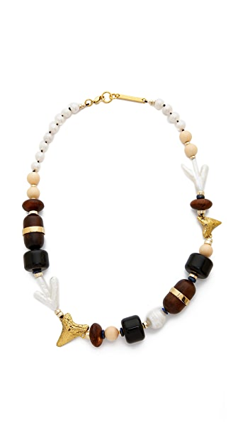 Lizzie Fortunato Pacific Single Strand Necklace