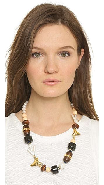 Lizzie Fortunato Pacific Single Strand Necklace