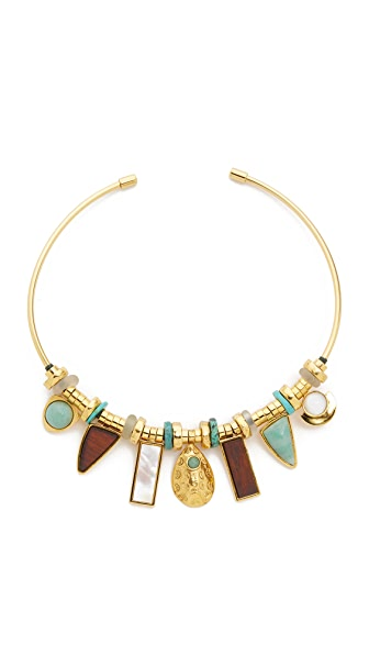 Lizzie Fortunato Azure Seas Collar Necklace