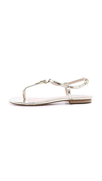 L.K. Bennett Island Flat Sandals