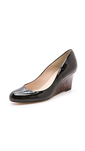 L.K. Bennett Zahara Wedge Pumps