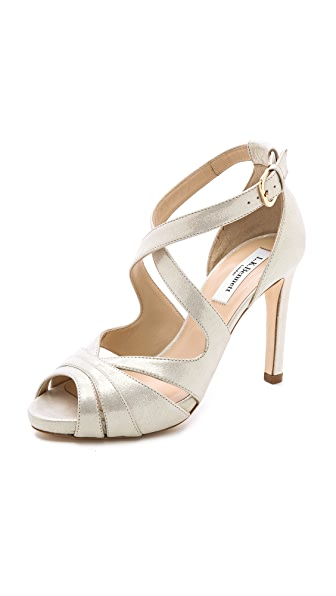 L.K. Bennett Megan Metallic Sandals