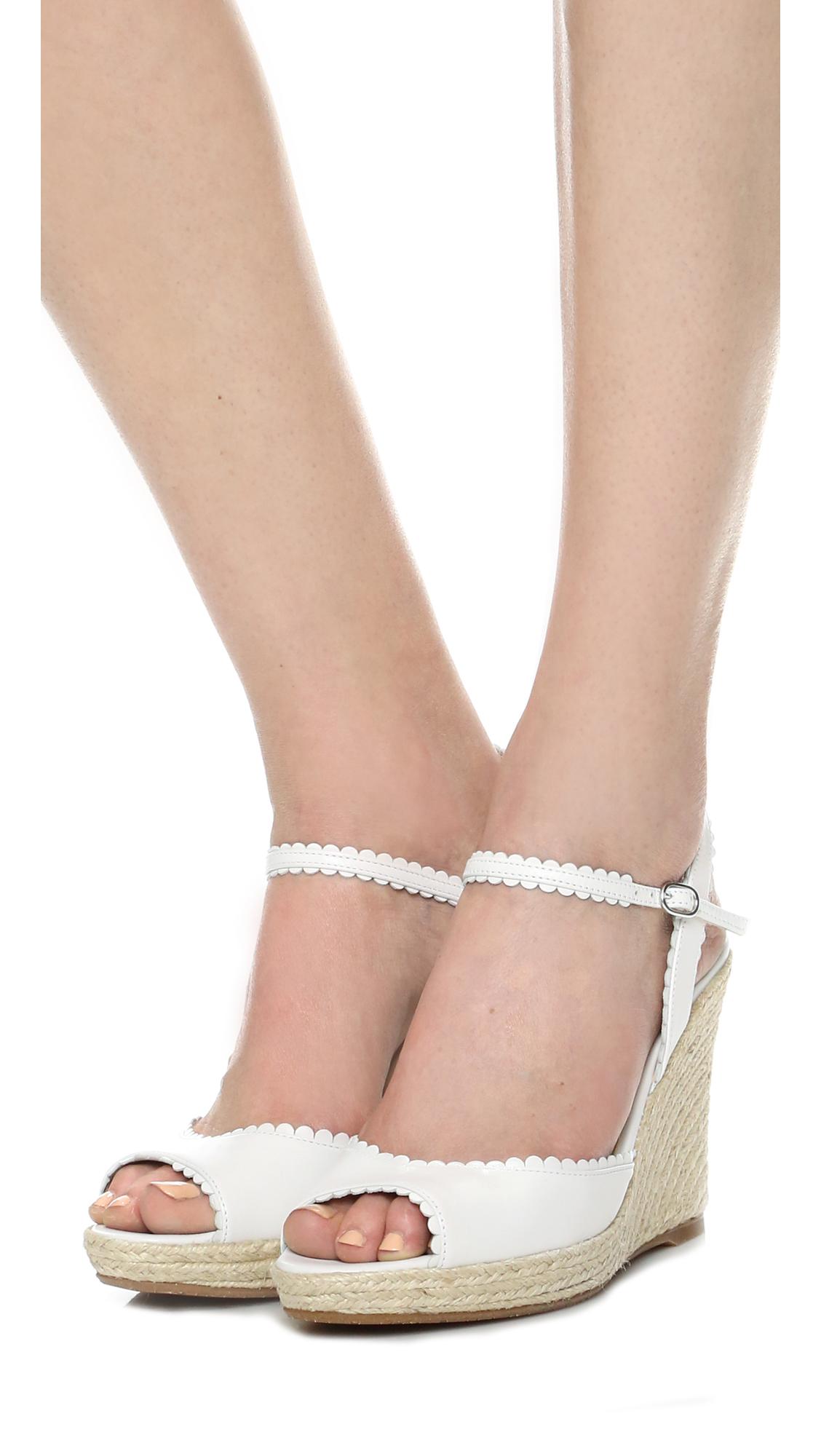 d72f59becd7 L.K. Bennett Seve Wedge Sandals | SHOPBOP