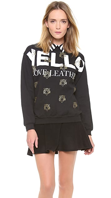 Love Leather The Wanted Sweatshirt