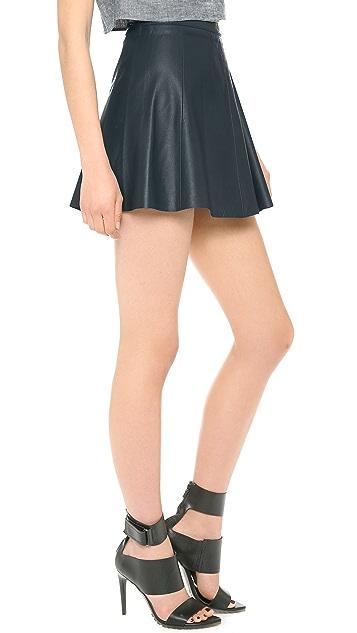 Love Leather Legs Legs Legs Miniskirt