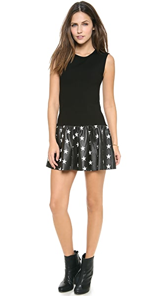 Love Leather Stars Courtside Mini Dress