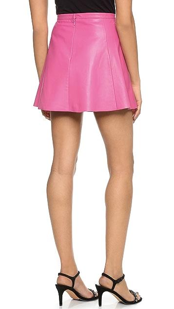 Love Leather Legs Legs Legs Skirt
