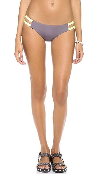 Lisa Lozano Strappy Hipster Bikini Briefs