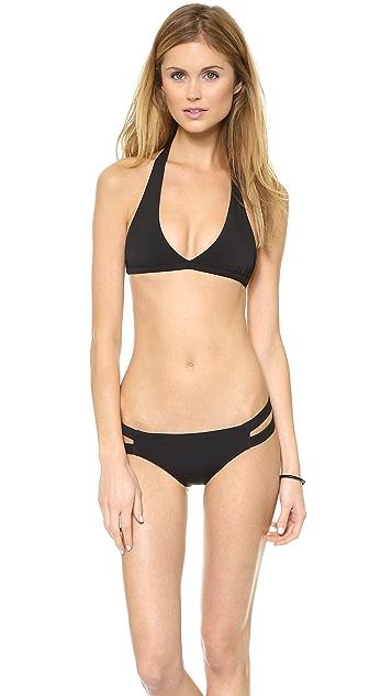 Lisa Lozano Chic Halter Bikini Top