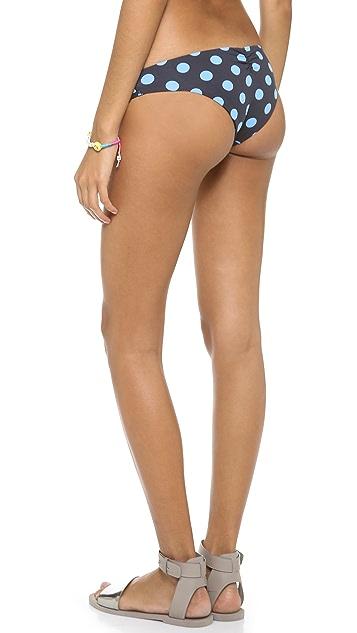 Lisa Lozano Polka Dot Basic Bikini Brief