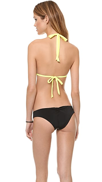 Lisa Lozano Basic Triangle Bikini Top