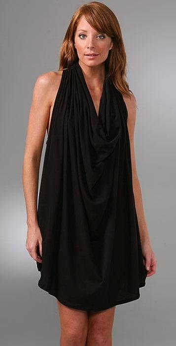 LNA Drape Neck Dress