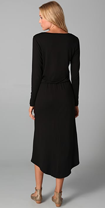 LNA Back Tail Dress
