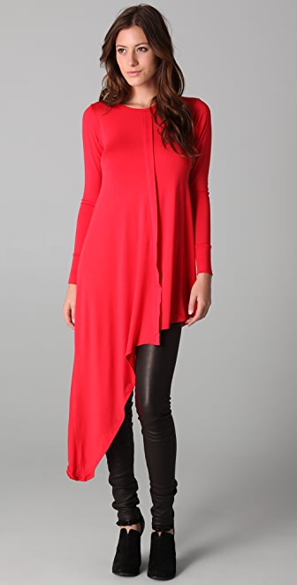 LNA Asymmetrical Tunic