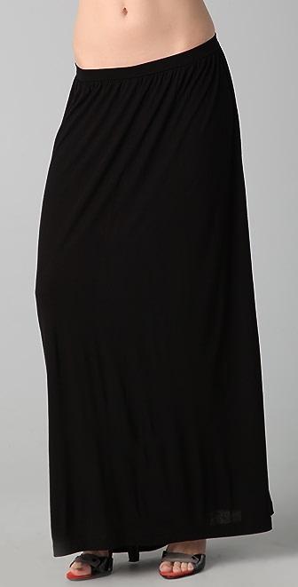 LNA Gypsy Maxi Skirt