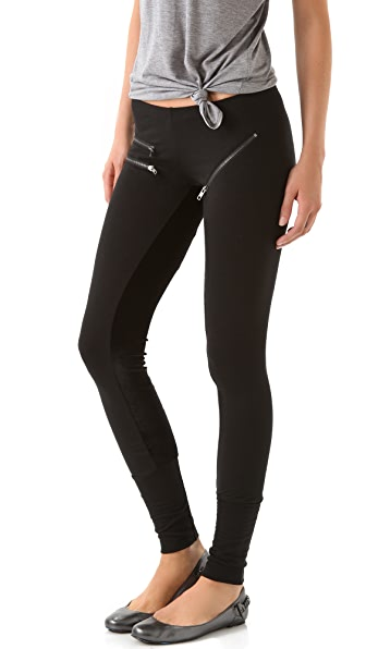LNA Equestrian Zip Leggings