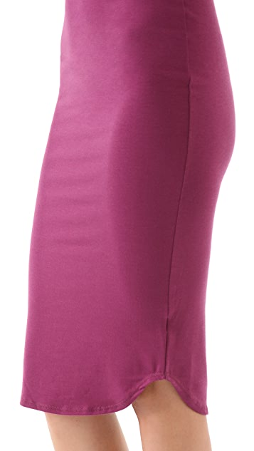 LNA Hyde Column Dress