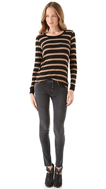 LNA Spencer Striped Sweater