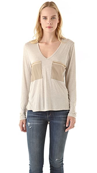 LNA Hampton Zipper Tunic
