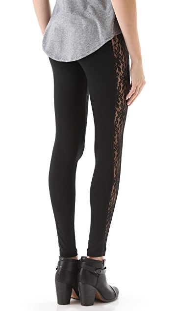 LNA Lace Surf Leggings