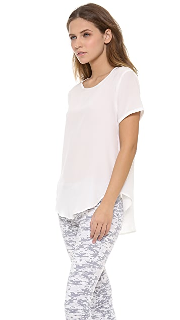 LNA Relaxed Silk Tee