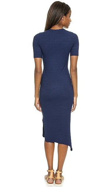 LNA Ribbed Nola Dress