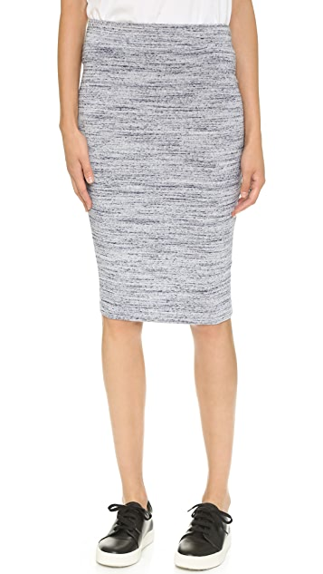 LNA Perille Fitted Knit Skirt