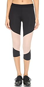 LNA ACTIVE Division Cropped Leggings                LNA