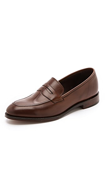 Loake 1880 Whitehall Burnished Saddle Loafers