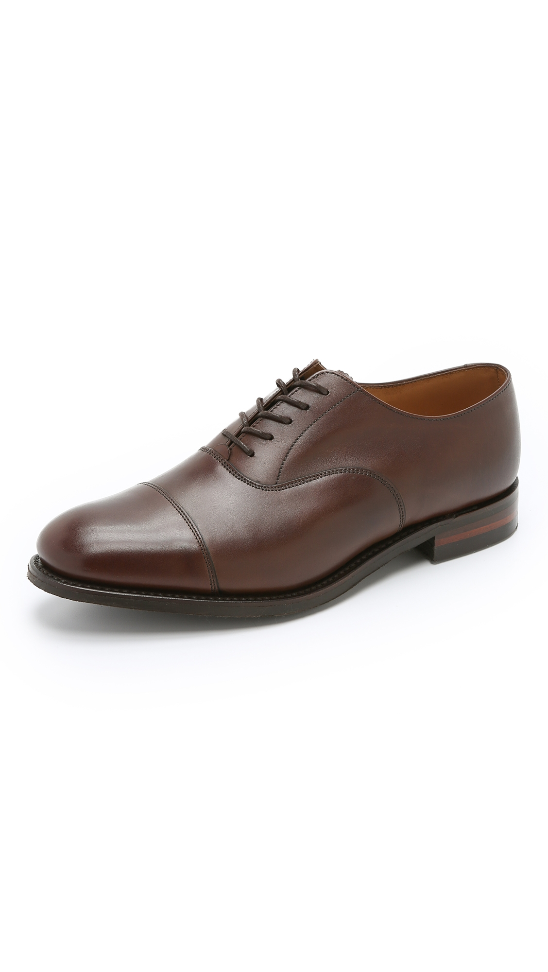 LOAKE 1880 SCAFELL CAP TOE OXFORD SHOES