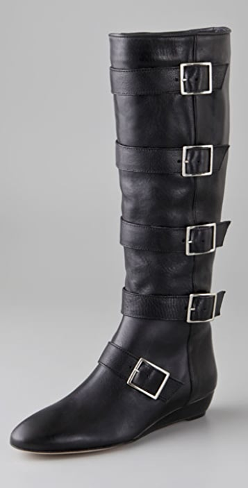 Loeffler Randall Marti Buckle Boots